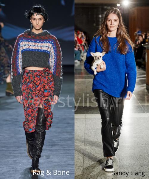 Модные свитеры осень-зима 2020/21 фото №34