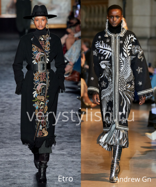 модные пальто осень-зима 2020/21 фото №97