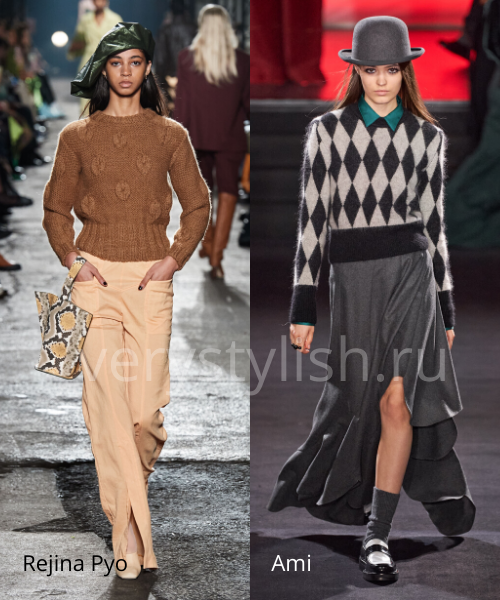 Модные свитеры осень-зима 2020/21 фото №35