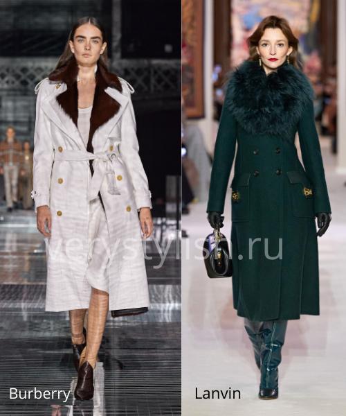 модные пальто осень-зима 2020/21 фото №77