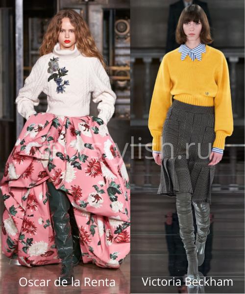 Модные свитеры осень-зима 2020/21 фото №48