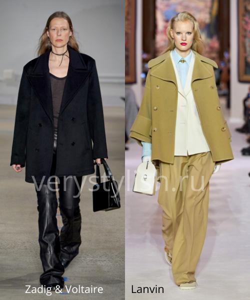 модные пальто осень-зима 2020/21 фото №37