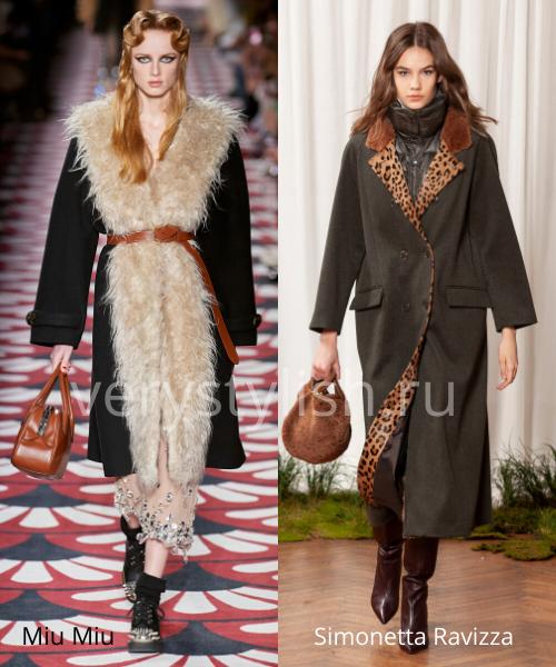 модные пальто осень-зима 2020/21 фото №78