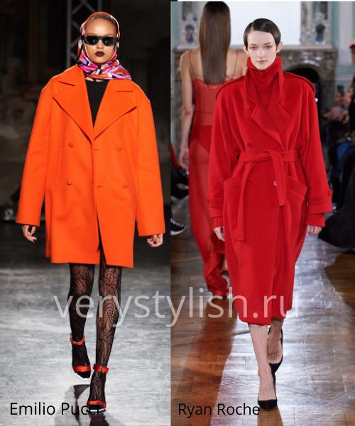 модные пальто осень-зима 2020/21 фото №99