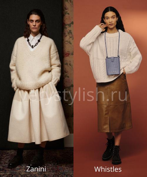 Модные свитеры осень-зима 2020/21 фото №37