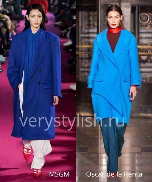 модные пальто осень-зима 2020/21 фото №100