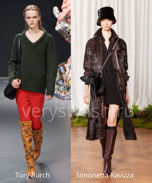 Модные свитеры осень-зима 2020/21 фото №38