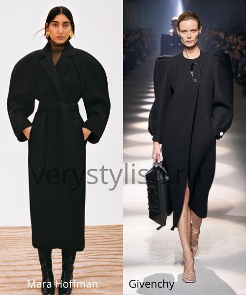модные пальто осень-зима 2020/21 фото №67