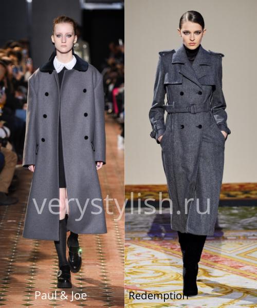 модные пальто осень-зима 2020/21 фото №101