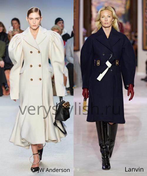 модные пальто осень-зима 2020/21 фото №68