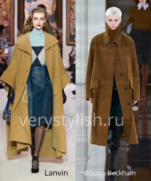 модные пальто осень-зима 2020/21 фото №102