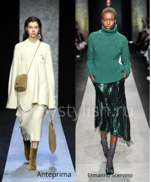 Модные свитеры осень-зима 2020/21 фото №39