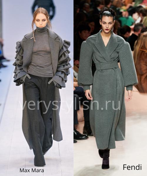 модные пальто осень-зима 2020/21 фото №69