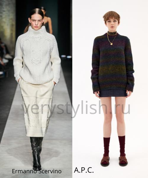 Модные свитеры осень-зима 2020/21 фото №40