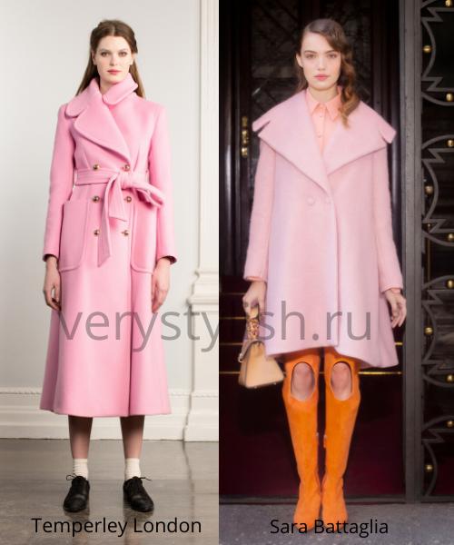модные пальто осень-зима 2020/21 фото №70