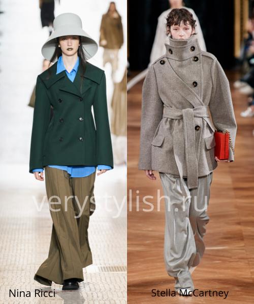модные пальто осень-зима 2020/21 фото №104