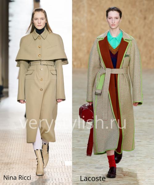 модные пальто осень-зима 2020/21 фото №105