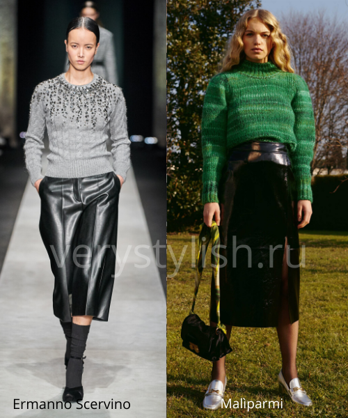 Модные свитеры осень-зима 2020/21 фото №41