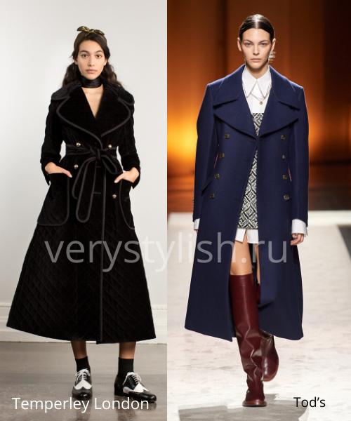 модные пальто осень-зима 2020/21 фото №71