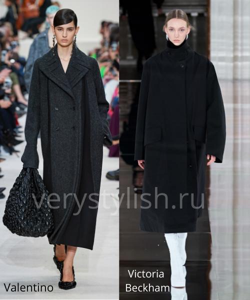 модные пальто осень-зима 2020/21 фото №106