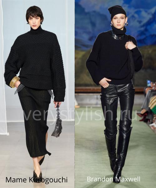 Модные свитеры осень-зима 2020/21 фото №42