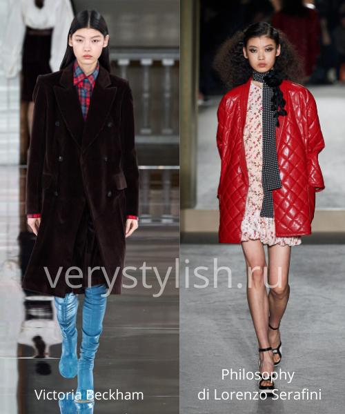 модные пальто осень-зима 2020/21 фото №107