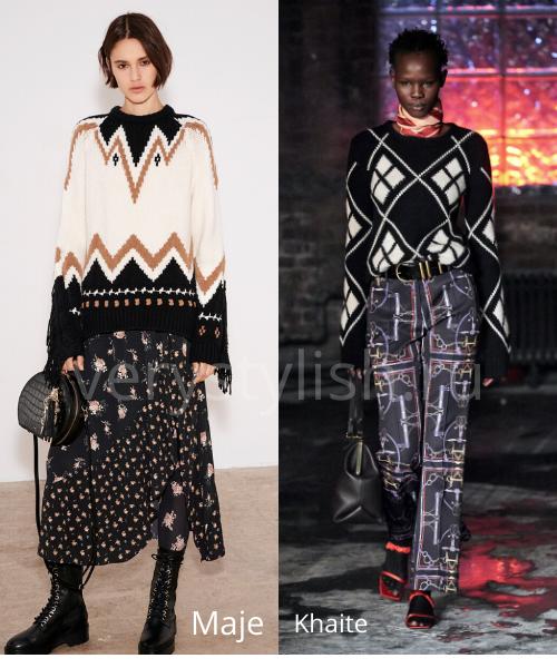 Модные свитеры осень-зима 2020/21 фото №5
