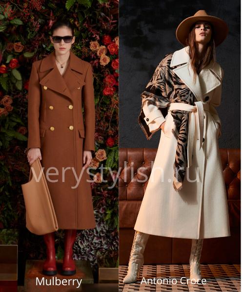 модные пальто осень-зима 2020/21 фото №73