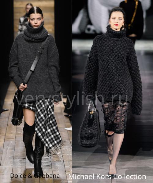 Модные свитеры осень-зима 2020/21 фото №11
