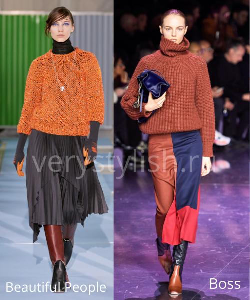 Модные свитеры осень-зима 2020/21 фото №43
