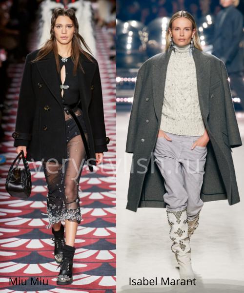 модные пальто осень-зима 2020/21 фото №38