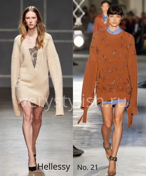 Модные свитеры осень-зима 2020/21 фото №49