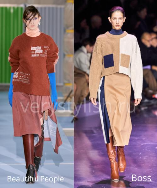 Модные свитеры осень-зима 2020/21 фото №44