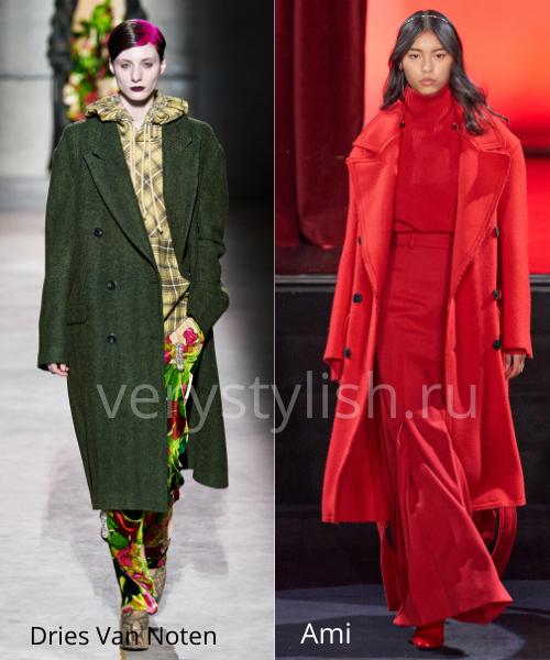 модные пальто осень-зима 2020/21 фото №75