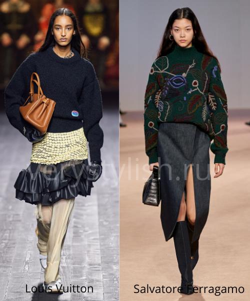 Модные свитеры осень-зима 2020/21 фото №12