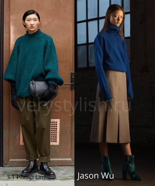 Модные свитеры осень-зима 2020/21 фото №13