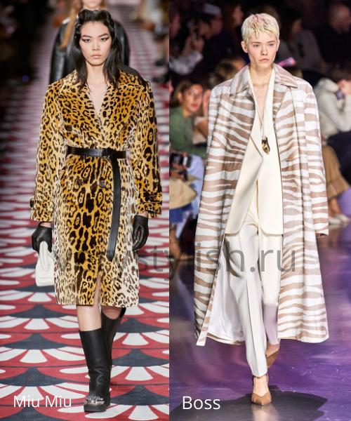 модные пальто осень-зима 2020/21 фото №80