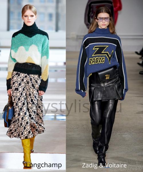 Модные свитеры осень-зима 2020/21 фото №4