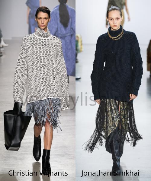 Модные свитеры осень-зима 2020/21 фото №14