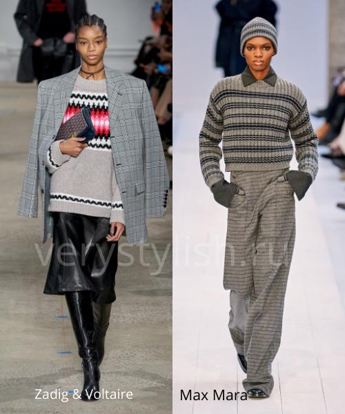 Модные свитеры осень-зима 2020/21 фото №15