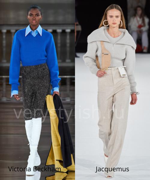 Модные свитеры осень-зима 2020/21 фото №