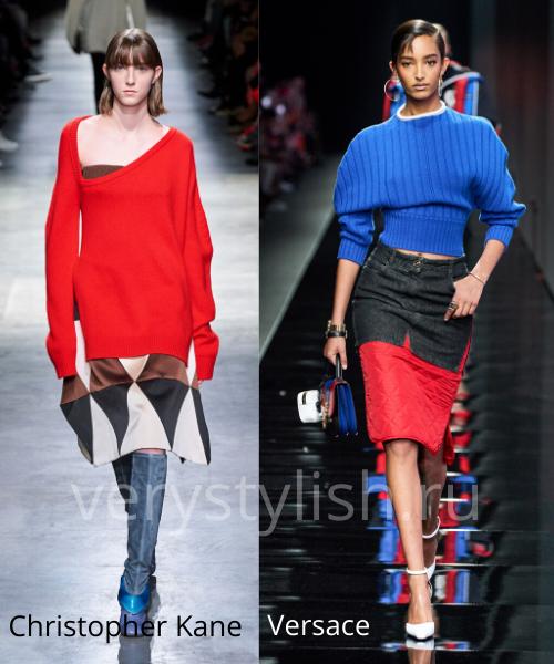 Модные свитеры осень-зима 2020/21 фото №9