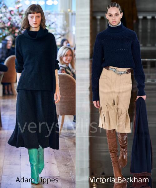 Модные свитеры осень-зима 2020/21 фото №2