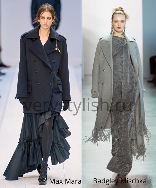 модные пальто осень-зима 2020/21 фото №40