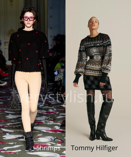 Модные свитеры осень-зима 2020/21 фото №50