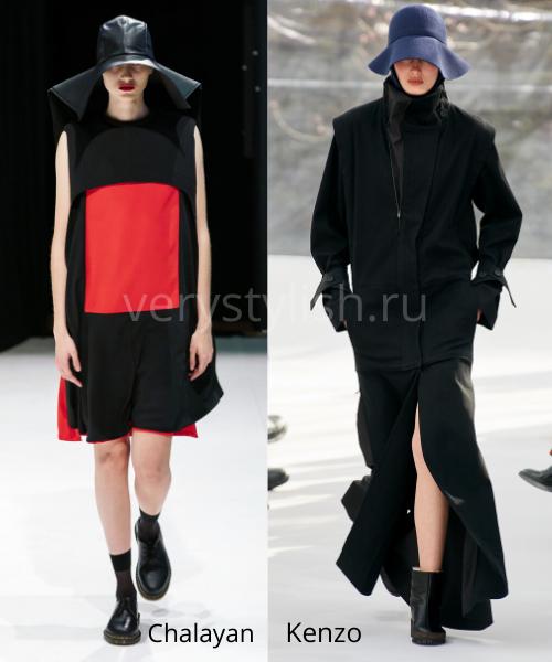 Модные головные уборы осень-зима 2020/21 фото №7