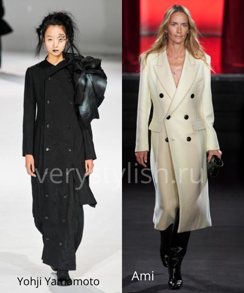 модные пальто осень-зима 2020/21 фото №10