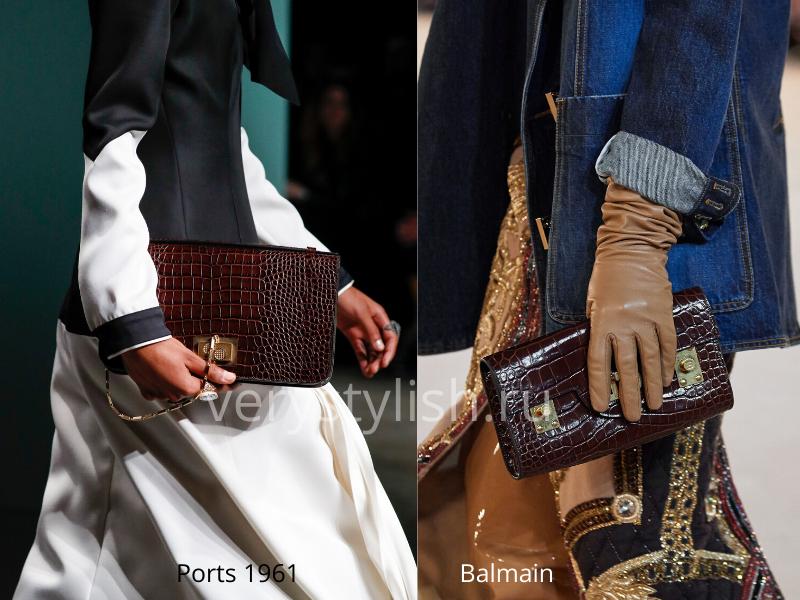 Модные сумки осень-зима 2020/21 фото №106
