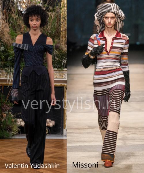 геометрический принт - модный тренд сезона осень-зима 2020/21 Фото №11
