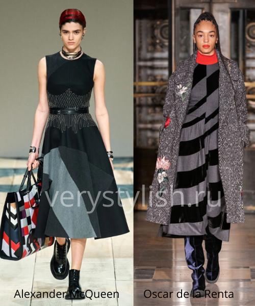 геометрический принт - модный тренд сезона осень-зима 2020/21 Фото №9